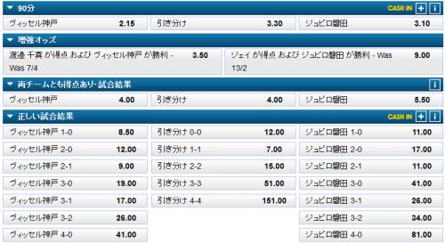 神戸vs磐田